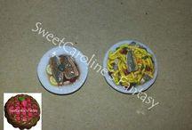 Le mie mini creazioni/My mini creations / Le mie mini creazioni (scala 1:12) in pasta polimerica - My mini creations (1:12 scale) in polymer clays.