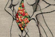 Fabric art.