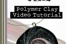Polymer clay swirl