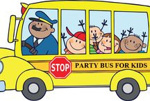 Kids Party Bus / For more details visit www.mynycpartybus.com/staten-island-party-buses/