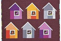 mom bird quilt idea