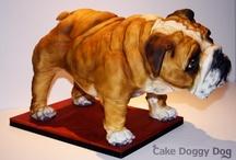 Kutyás torták- Dog Cakes / Ötletek/Ideas