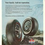 Automobile Tires / Magazine Advertisements featuring Automobile Tires! B.F. Goodrich, Firestone, Goodyear and more! Enjoy these vintage ads! And remember to visit www.magazine-advertisements.com to view, download, or print the Full-Size image! / by Advertisement Gallery