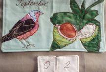textile calendar