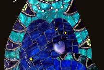 Kitty Mosaics