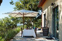 Italiaanse terrassen