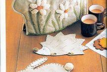 Sewing, appliqué, patchwork