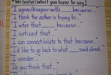 accountable talk in the classroom / interactive read aloud, ways to get kids to talk about book
