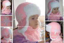 шапки детям