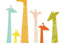A fond fascination of giraffes / by Carrie
