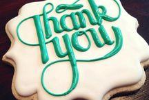 Cookies - Thank you / by Jennifer Sorenson
