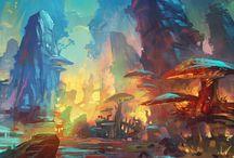 Fantasy setting