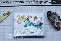Winter And Christmas Cards / by Lori Fassbender