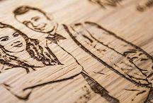 FOTO engraving.