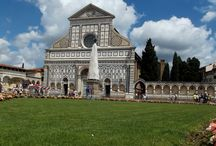 SANTA MARIA NOVELLA - FIRENZE / Iniziata nel 1221, fu chiamata così per distinguerla dalla vicina Santa Maria Maggiore