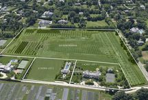 455, 461, 501 Ocean Road, Bridgehampton NY / Prominently situated on one of the most desirable streets in Bridgehampton, you will find a unique opportunity to own one of the largest compounds in all of the Hamptons. This compound boasts 17.5 acres in totality, comprised of two building parcels complete with one home, and multiple recreational pavilions. World-renowned architect, Shope Reno Wharton, methodically designed the planned and permitted principal structure specifically for this property.