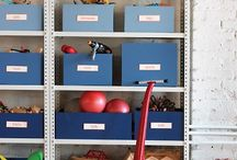 Daycare storage ideas / by Toni M