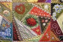Quilt Blocks: Crazy / by AgnesEthel QuiltPox