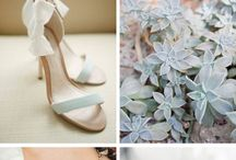 Sage green wedding colours