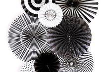 Black white party