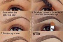 make up &eyebrows