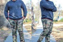 Pantalon camuflajeado