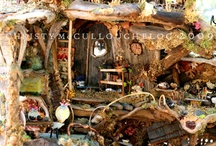Doll Houses & Miniatures / I love everything miniature!! My dream is to one day have a large Victorian or Fairy Doll House and fill it with all of these cute miniatures! / by Deidre Dreams