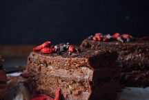 Chocolate Cake & Brownies