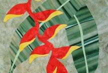 Islands designs / Tivaevae, quilts, tropical prints