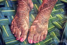 Mehendi and Henna /  #henna #Mehendi #Weddings #Indian #Asia #Bride