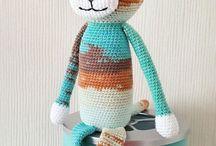Knitting or crocheting
