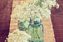 Wedding table centrepeices  / different ideas for a rustic/DIY wedding theme