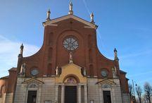 Esterno della chiesa / Faccia della Chiesa di Santa Maria (Dueville)