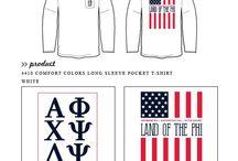 Alpha Phi / Alpha Phi custom shirt designs #alphaphi #ap #af  For more information on screen printing or to get a proof for your next shirt order, visit www.jcgapparel.com