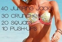 Work out routines.