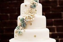 Wedding cakes / by Kelly Kerski