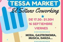 Colaboraciones con Carme Tessa / Evento Tessa Market