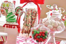 Candy bar navidad