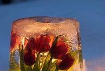 Ice candle / jäälyhtyjä