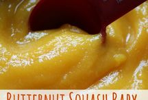 Baby food - Butternut Squash & Pumpkin