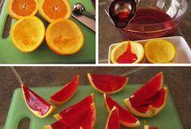 Wackelpudding in Frucht