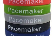 Pacemaker Medical Alert Bracelets / Medical alert bracelets for people who have an implanted pacemaker.