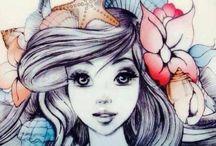 Mermaids & Fairies / Magical creatures