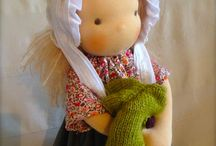 Organic Waldorf doll by Cottage of dolls