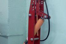 Оборудование для мастерских / Workshop equipment / Оборудование и инструменты, сделанные в нашей мастерской  Tools and equipment made by Heavy Metal Garage