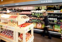 Interiors + supermarket
