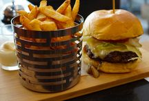 The Burgled Burger / Here's a selection of some of our amazing burgers available until 11pm each night, seven days a week.