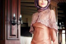 DRESS & HIJAB / long dress, party dress, hijab dress, formal dress