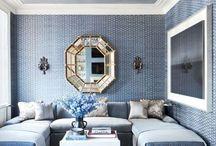•  interiors // blue •