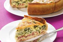 Food / Quiche / Ovenschotels